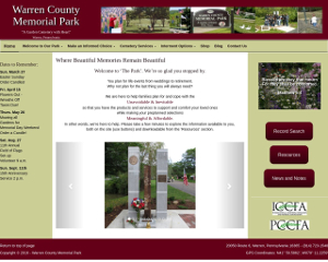 WCMPARK website screenshot
